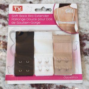 AS SEEN ON TV | Soft Back Bra Extenders 3 pack
